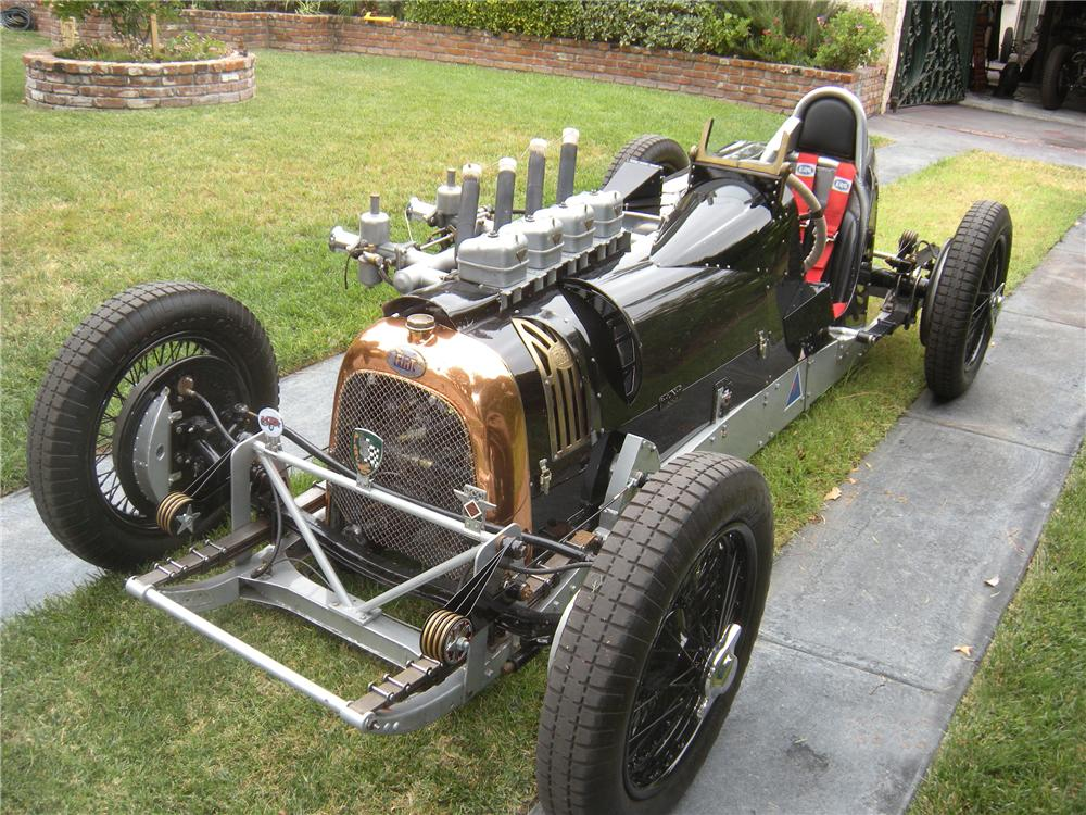 1929 FIAT GIPSY HISTORIC RACE CAR - Front 3/4 - 161169