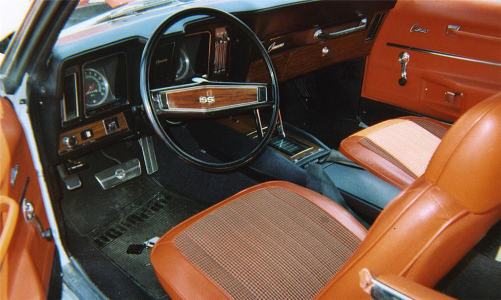 1969 CHEVROLET CAMARO SS PACE CAR CONVERTIBLE - Interior - 16117
