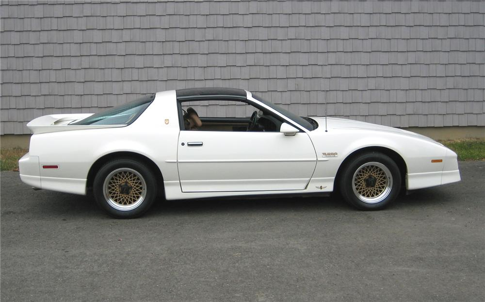 1989 PONTIAC FIREBIRD TRANS AM PACE CAR COUPE - Side Profile - 161171