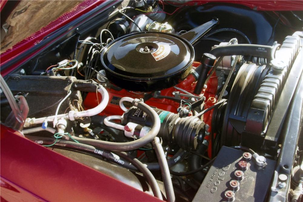 1966 CHEVROLET IMPALA SS CONVERTIBLE - Engine - 161174