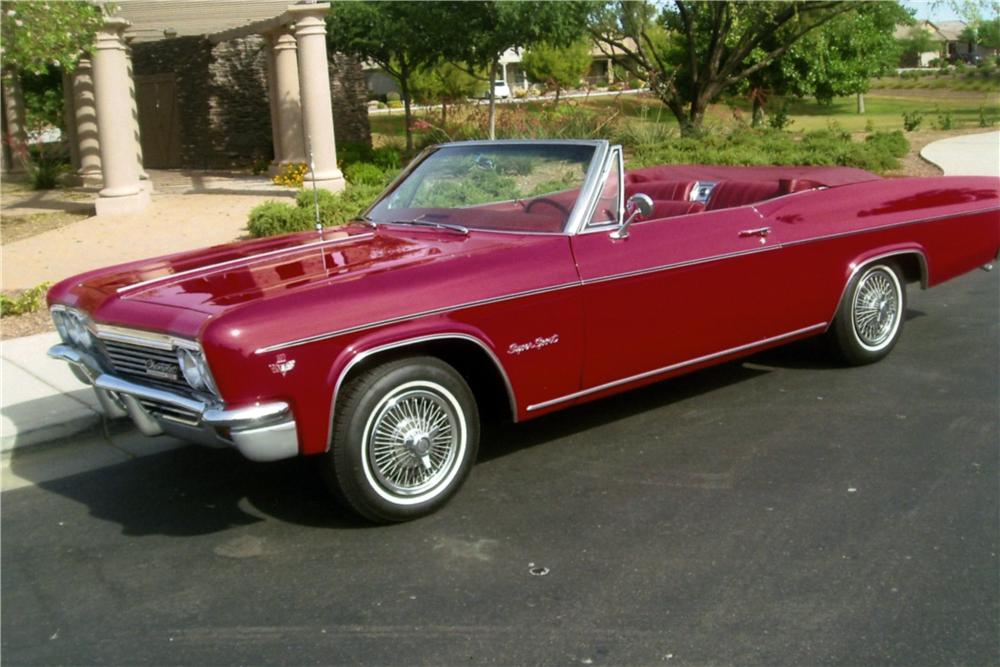 1966 CHEVROLET IMPALA SS CONVERTIBLE - Side Profile - 161174