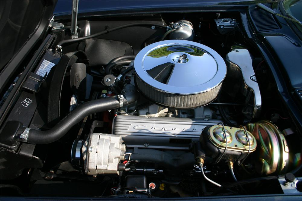 1966 CHEVROLET CORVETTE CONVERTIBLE - Engine - 161177