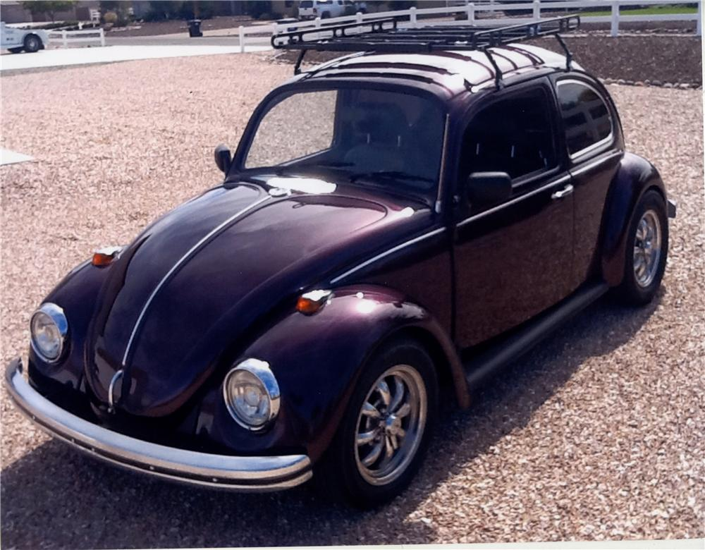 1969 VOLKSWAGEN BEETLE CUSTOM 2 DOOR - Front 3/4 - 161197