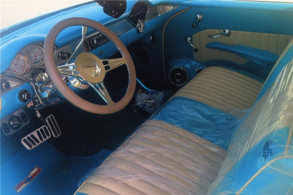 1955 CHEVROLET CUSTOM 2 DOOR COUPE - Interior - 161199