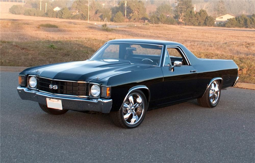 1972 chevrolet el camino custom pickup 161208. Black Bedroom Furniture Sets. Home Design Ideas