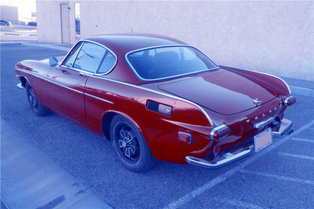1971 VOLVO P1800 E SPORT COUPE - Rear 3/4 - 161213