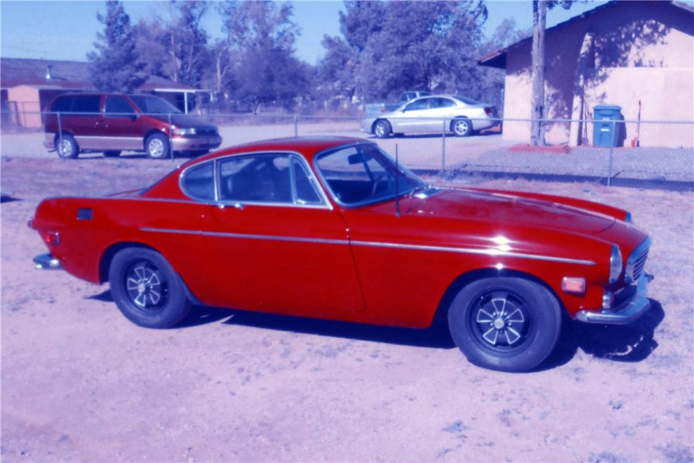 1971 VOLVO P1800 E SPORT COUPE - Side Profile - 161213