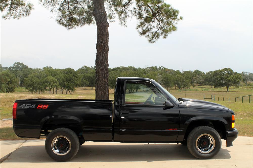 1990 CHEVROLET 1500 PICKUP - Side Profile - 161218
