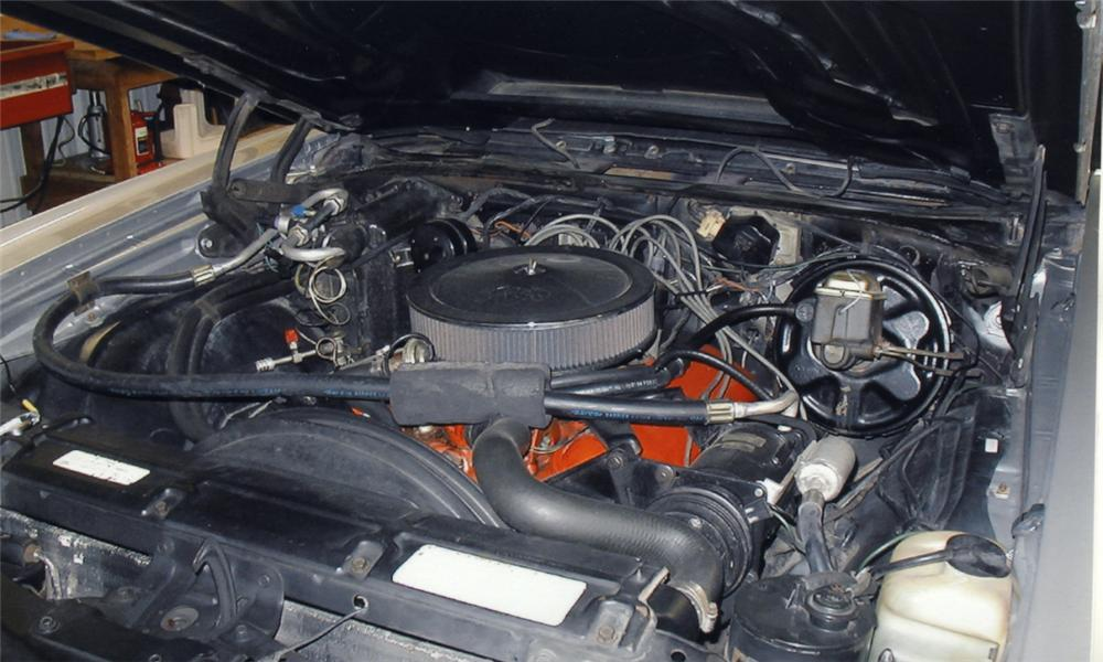 1971 CHEVROLET EL CAMINO SUPER SPORT PICKUP - Engine - 16122