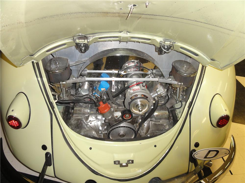 1961 VOLKSWAGEN BEETLE CUSTOM 2 DOOR RAGTOP - Engine - 161223