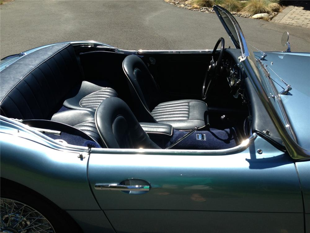 1961 AUSTIN-HEALEY 3000 MARK I BT7 CONVERTIBLE - Interior - 161226