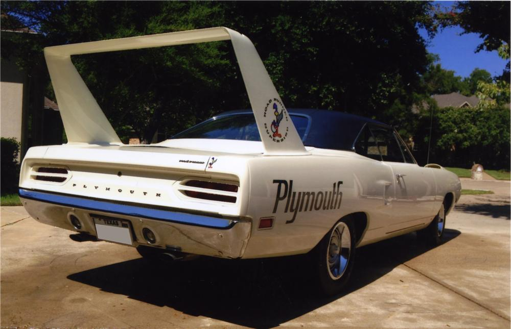 1970 PLYMOUTH SUPERBIRD 2 DOOR HARDTOP - Rear 3/4 - 161228