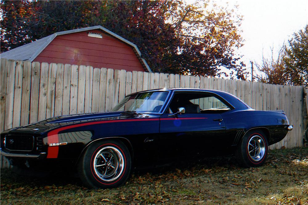 1969 CHEVROLET CAMARO 2 DOOR COUPE - Side Profile - 161230