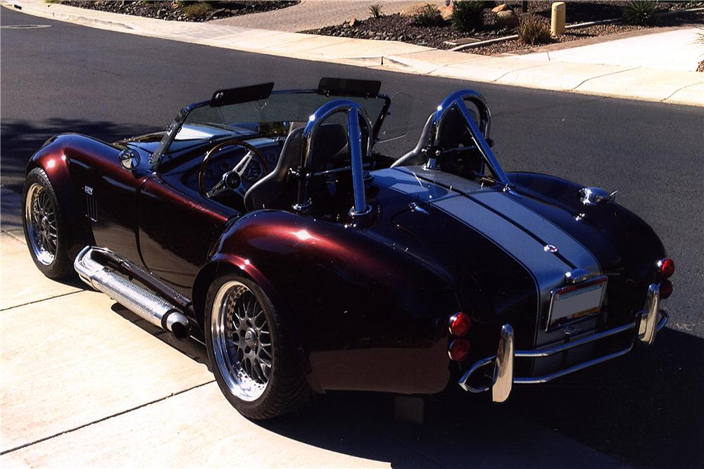 1965 SHELBY COBRA RE-CREATION ROADSTER - Rear 3/4 - 161233