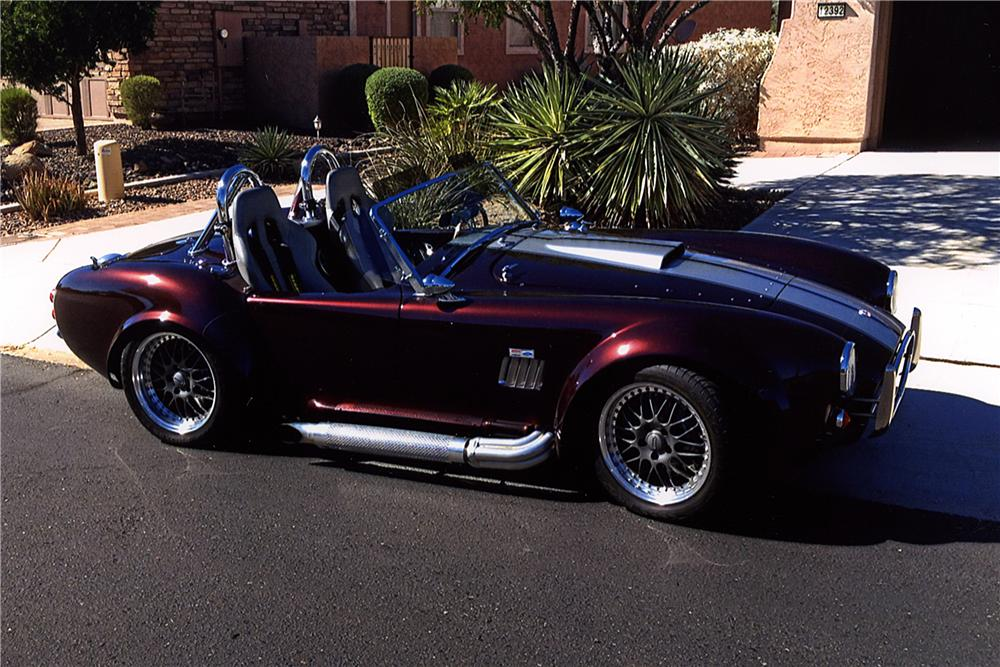 1965 SHELBY COBRA RE-CREATION ROADSTER - Side Profile - 161233