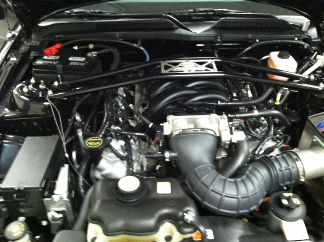 2007 FORD SHELBY GT-H CONVERTIBLE - Engine - 161235