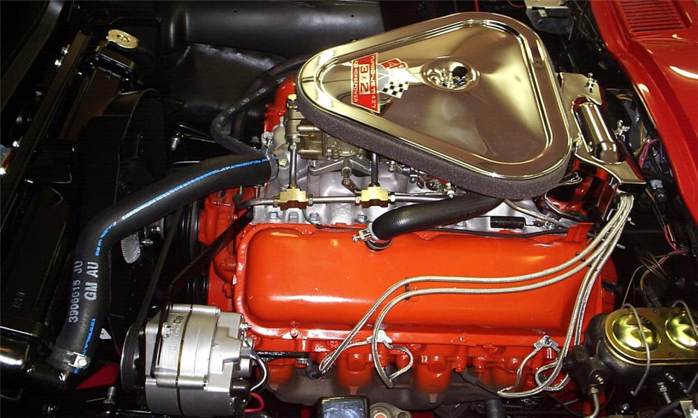 1967 CHEVROLET CORVETTE 427/435 CONVERTIBLE - Engine - 16124