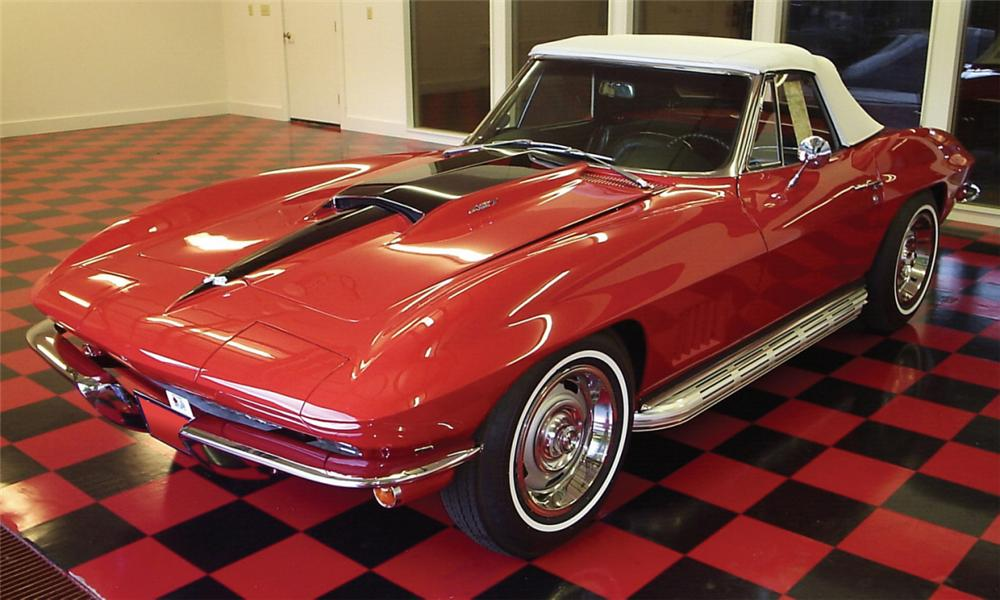 1967 chevrolet corvette 427 435 convertible 16124. Black Bedroom Furniture Sets. Home Design Ideas