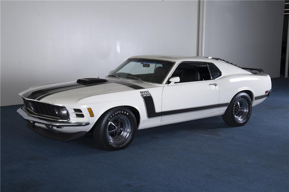 1970 FORD MUSTANG BOSS 302 FASTBACK - Front 3/4 - 161241
