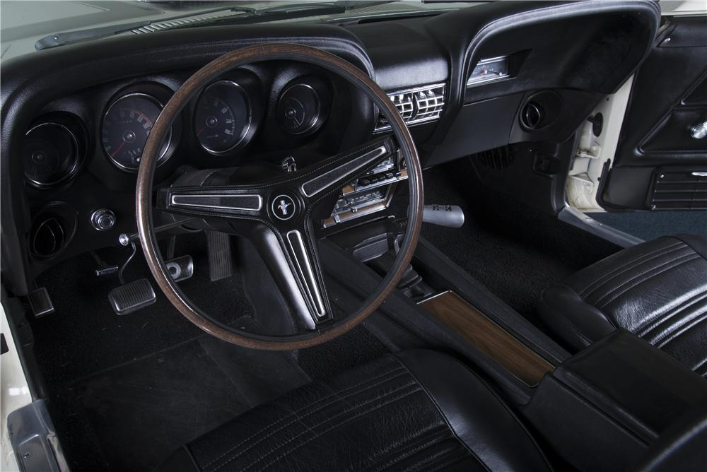 1970 FORD MUSTANG BOSS 302 FASTBACK - Interior - 161241