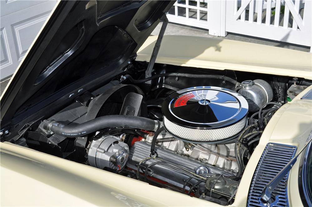 1966 CHEVROLET CORVETTE CONVERTIBLE - Engine - 161243