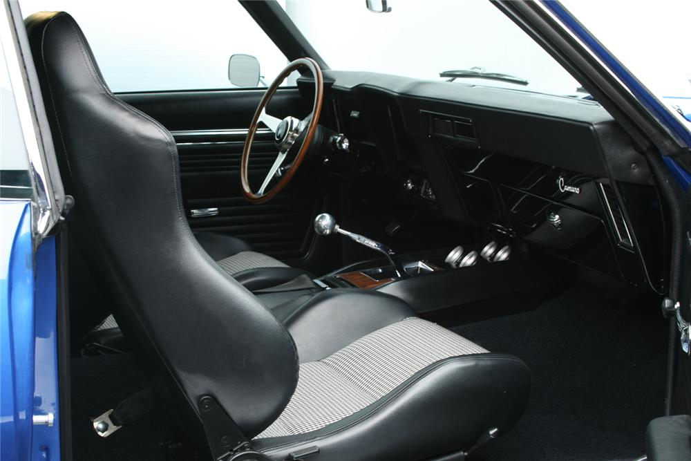 1969 CHEVROLET CAMARO CUSTOM 2 DOOR COUPE - Interior - 161250