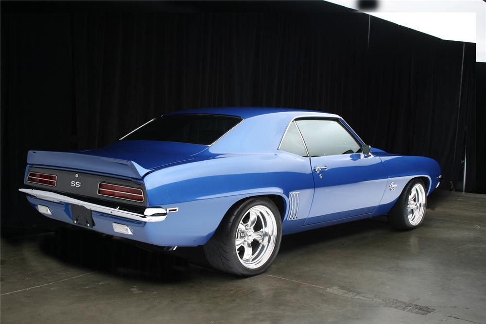 1969 CHEVROLET CAMARO CUSTOM 2 DOOR COUPE - Rear 3/4 - 161250