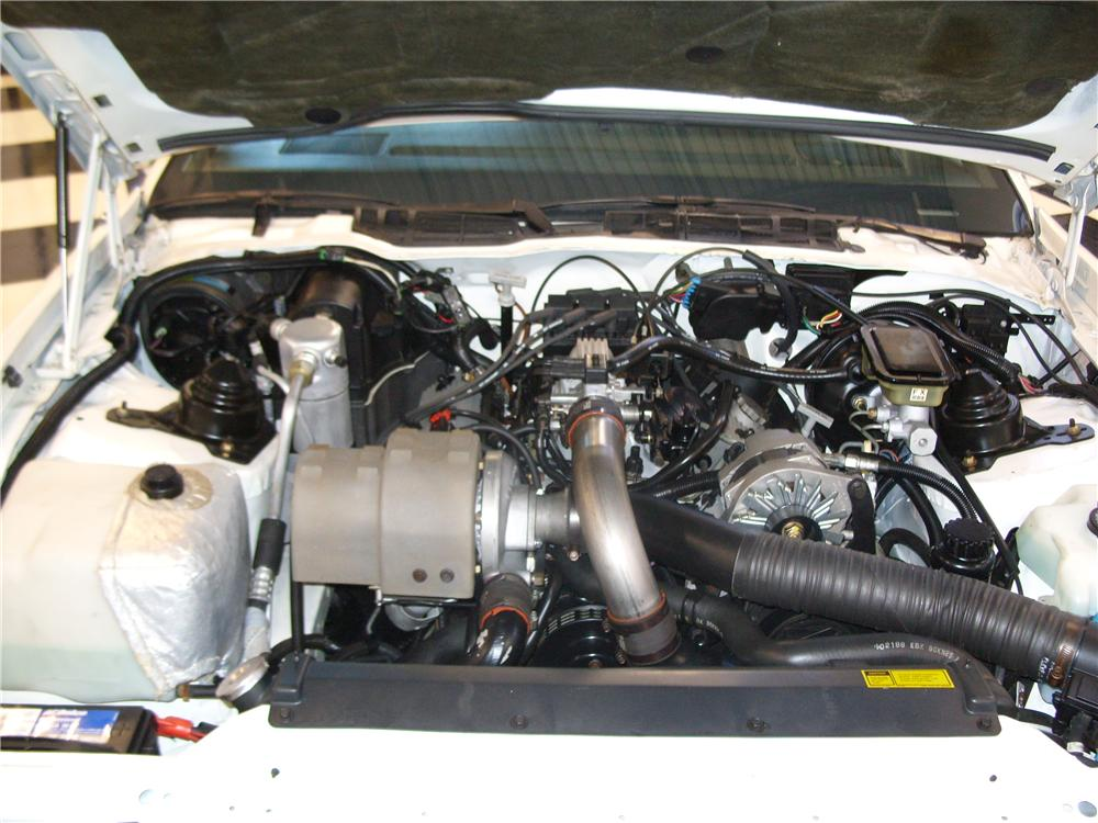 1989 PONTIAC FIREBIRD TRANS AM 20TH ANNIVERSARY COUPE - Engine - 161252