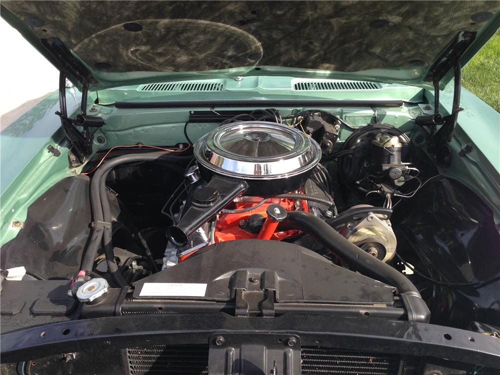 1968 CHEVROLET CAMARO SS CONVERTIBLE - Engine - 161255
