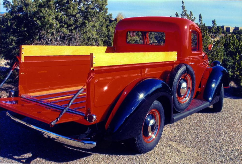 1938 FORD 85 PICKUP - Rear 3/4 - 161259