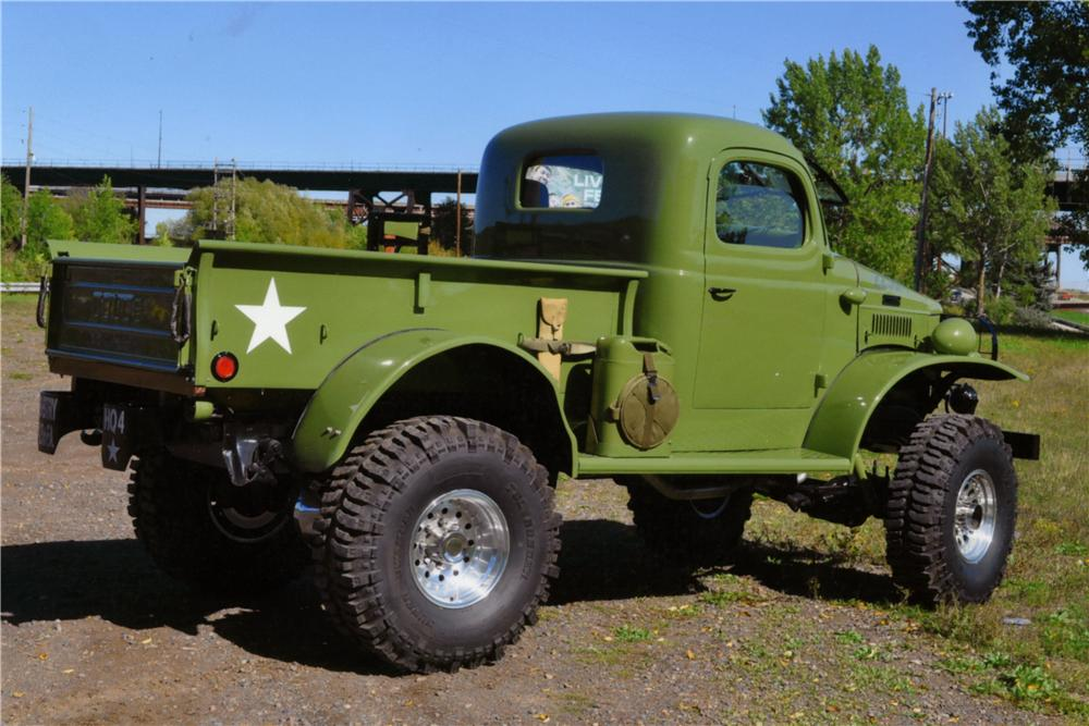 1941 DODGE CUSTOM 4X4 PICKUP 161260 on 1956 dodge power wagon 4x4