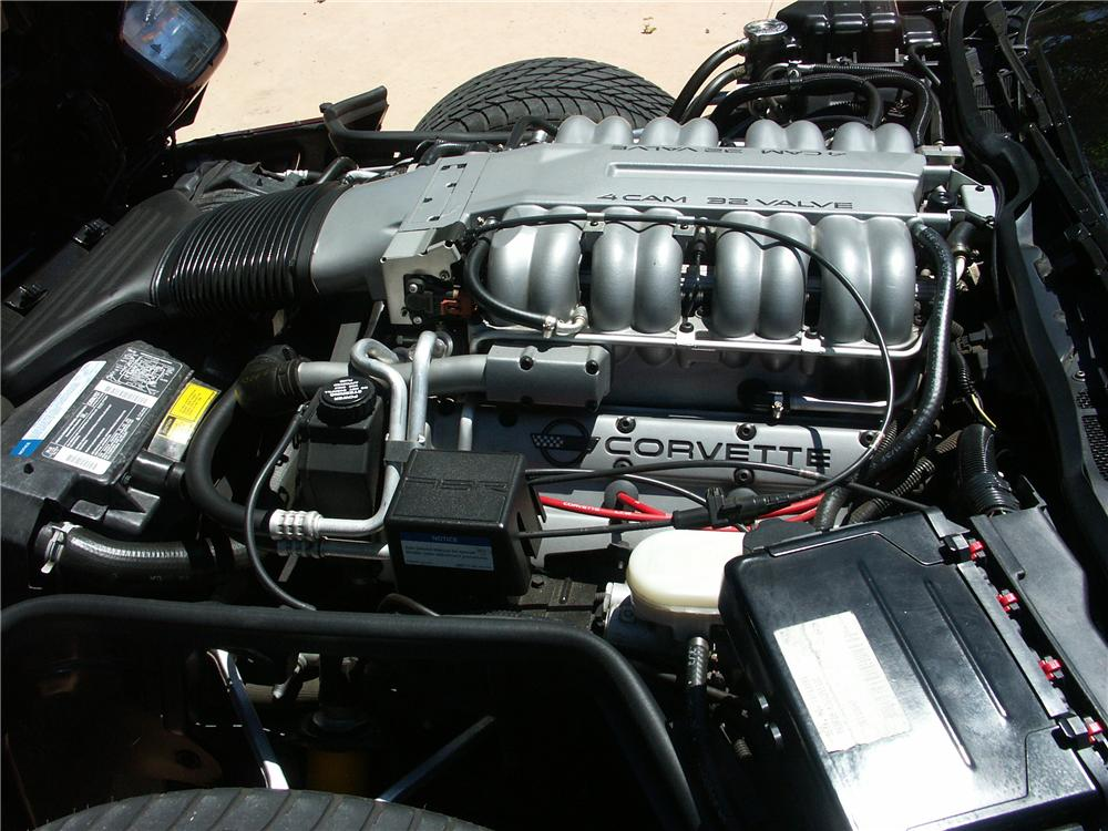 1993 CHEVROLET CORVETTE ZR1 2 DOOR COUPE - Engine - 161262