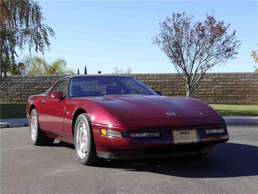 1993 CHEVROLET CORVETTE ZR1 2 DOOR COUPE - Front 3/4 - 161262