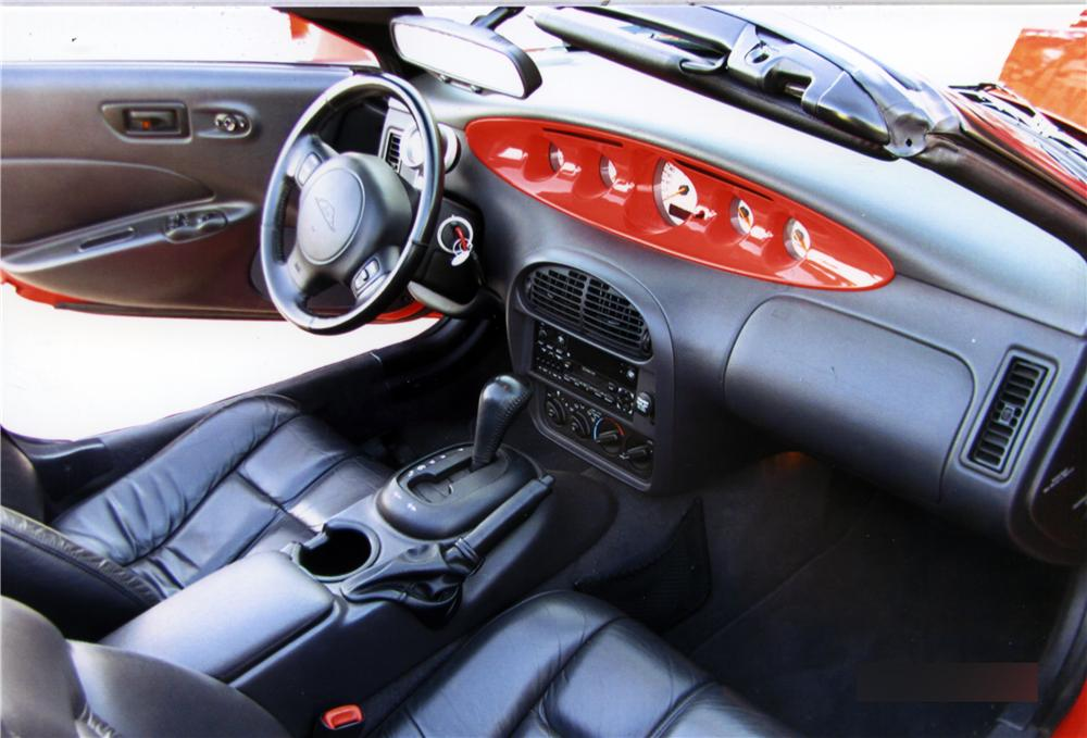 1999 PLYMOUTH PROWLER ROADSTER - Interior - 161265