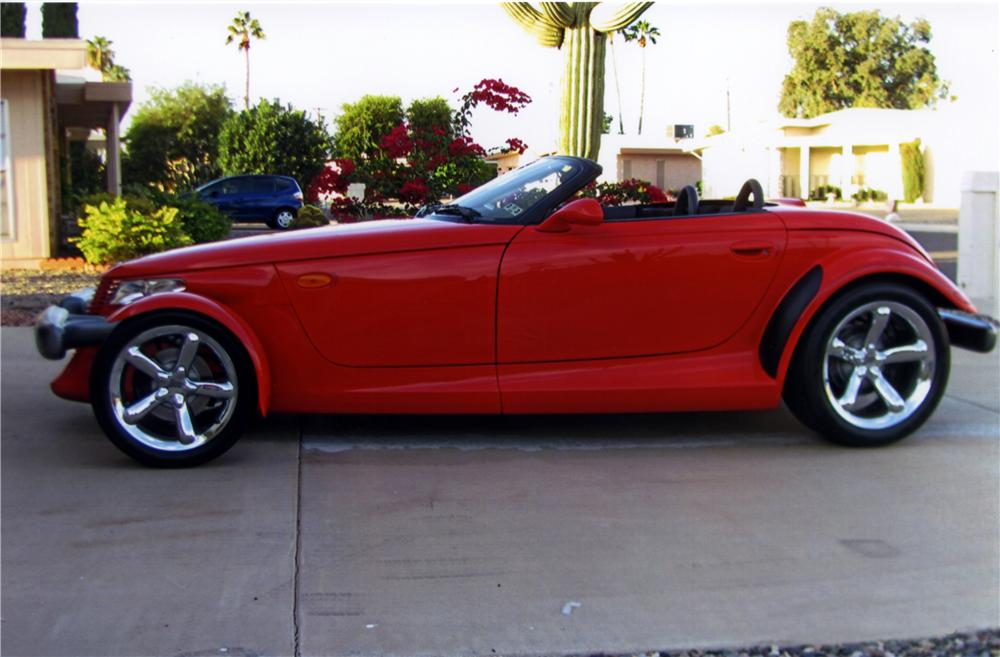 1999 PLYMOUTH PROWLER ROADSTER - Side Profile - 161265