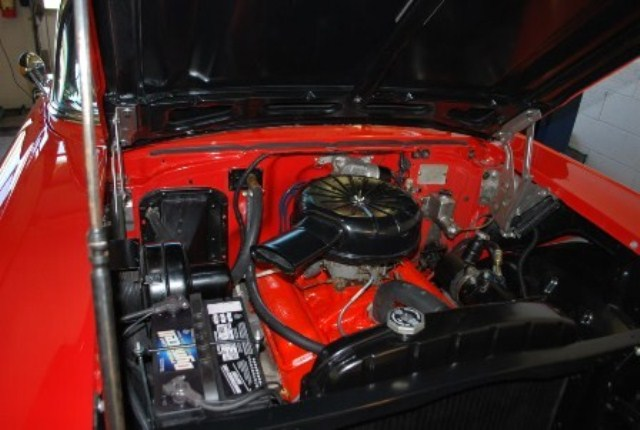 1957 CHEVROLET BEL AIR CONVERTIBLE - Engine - 161268