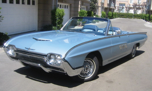 1963 FORD THUNDERBIRD CONVERTIBLE - Front 3/4 - 16127