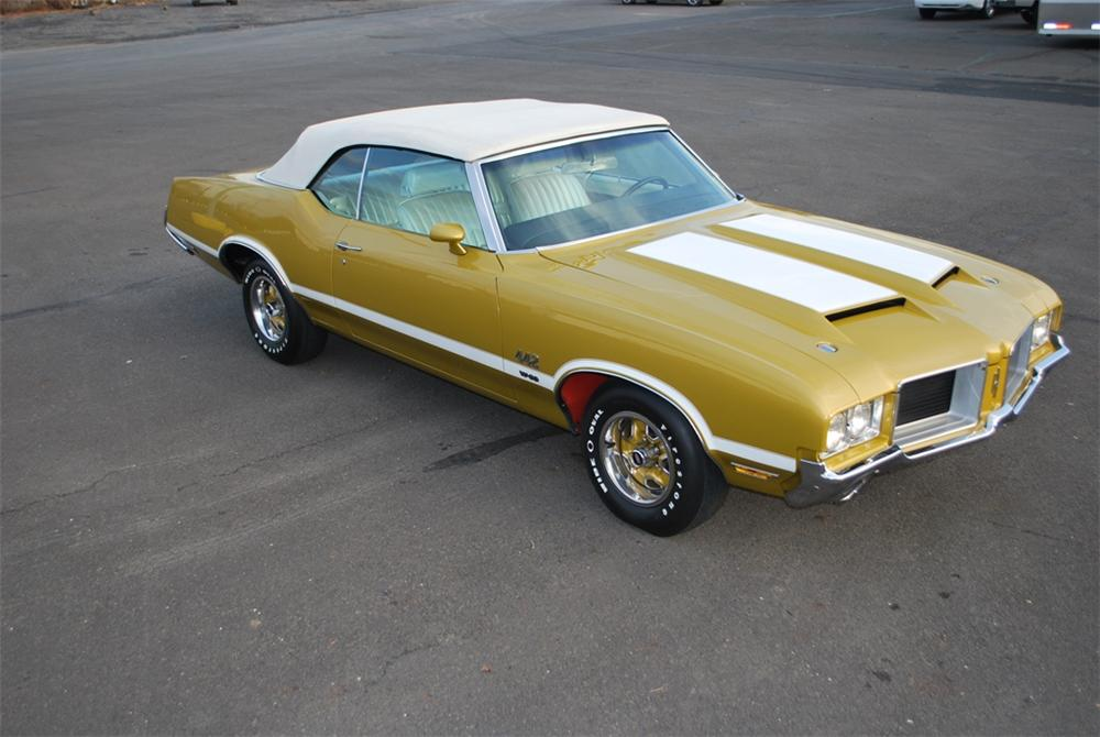1971 OLDSMOBILE 442 W30 CONVERTIBLE - Front 3/4 - 161270