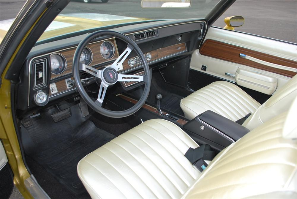 1971 OLDSMOBILE 442 W30 CONVERTIBLE - Interior - 161270