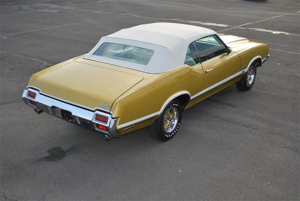 1971 Oldsmobile 442 W30 Convertible 161270