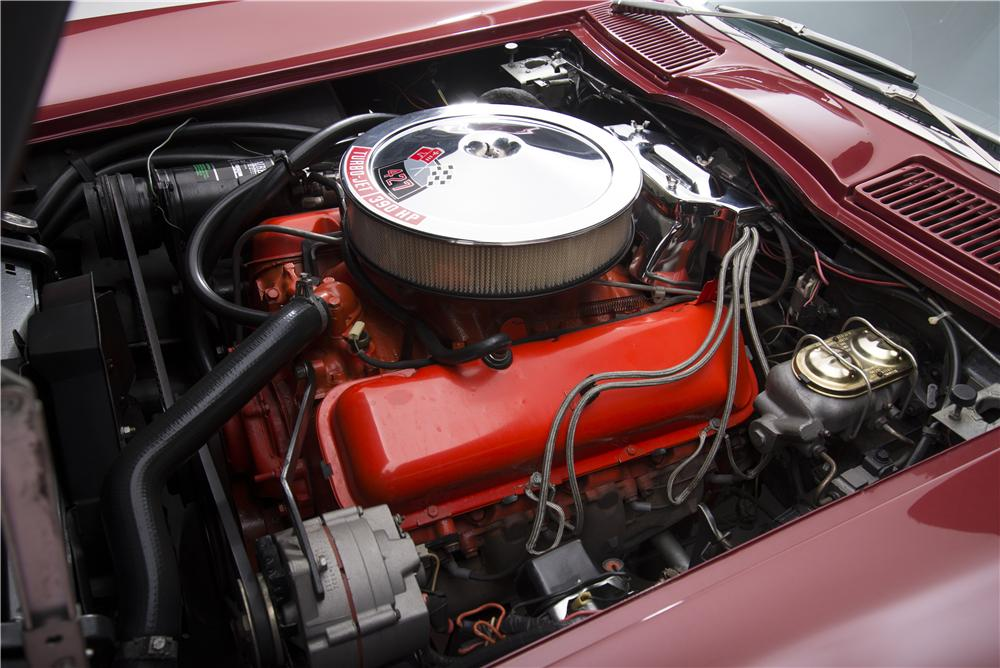 1967 CHEVROLET CORVETTE CONVERTIBLE - Engine - 161272