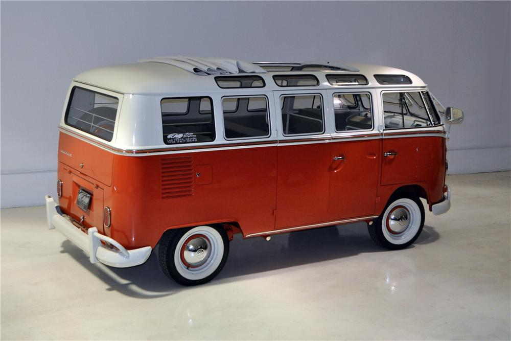 1966 VOLKSWAGEN 21 WINDOW SAMBA BUS - Rear 3/4 - 161277