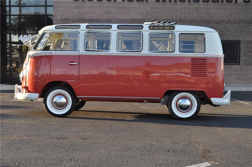 1966 VOLKSWAGEN 21 WINDOW SAMBA BUS - Side Profile - 161277
