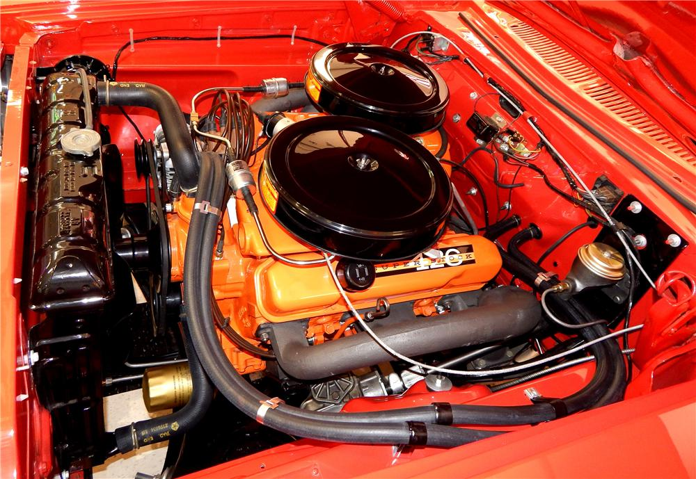 1963 PLYMOUTH SAVOY MAX WEDGE 2 DOOR POST - Engine - 161279