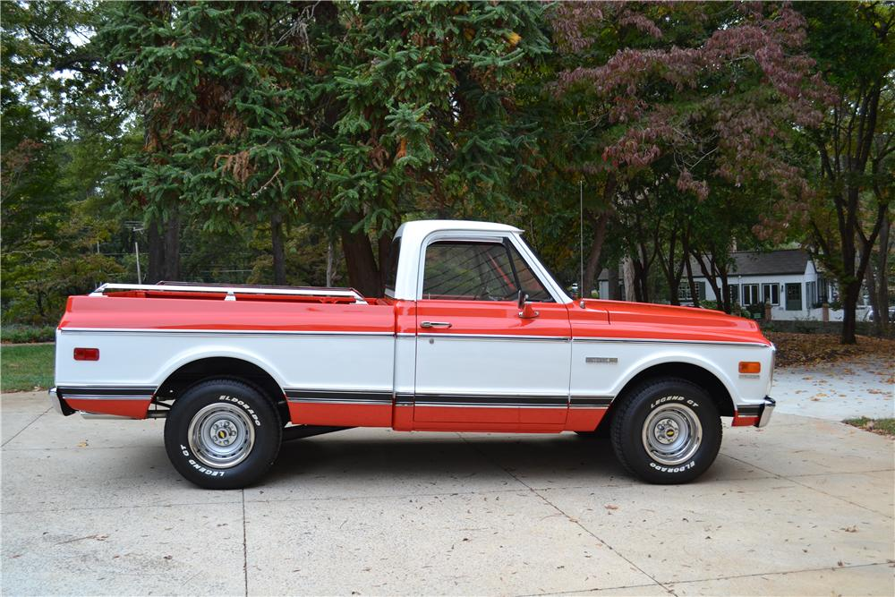 1971 CHEVROLET 1500 PICKUP - Side Profile - 161283