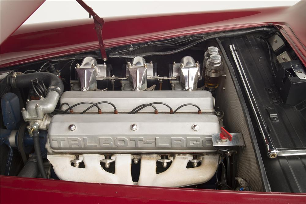 1955 TALBOT-LAGO T-26 GRAND SPORT GSL COUPE - Engine - 161287
