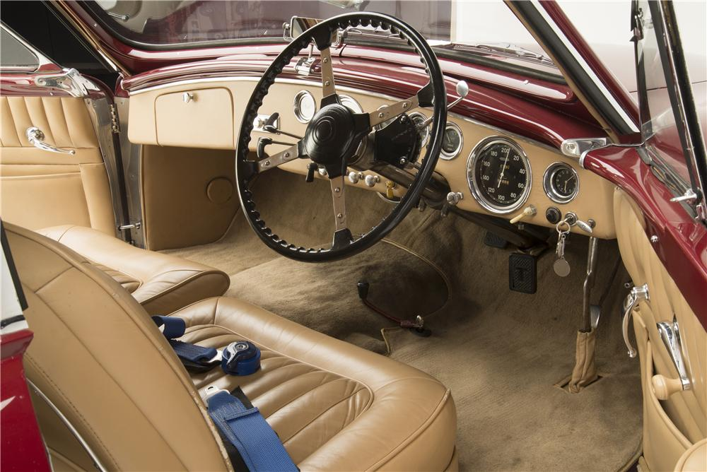 1955 TALBOT-LAGO T-26 GRAND SPORT GSL COUPE - Interior - 161287