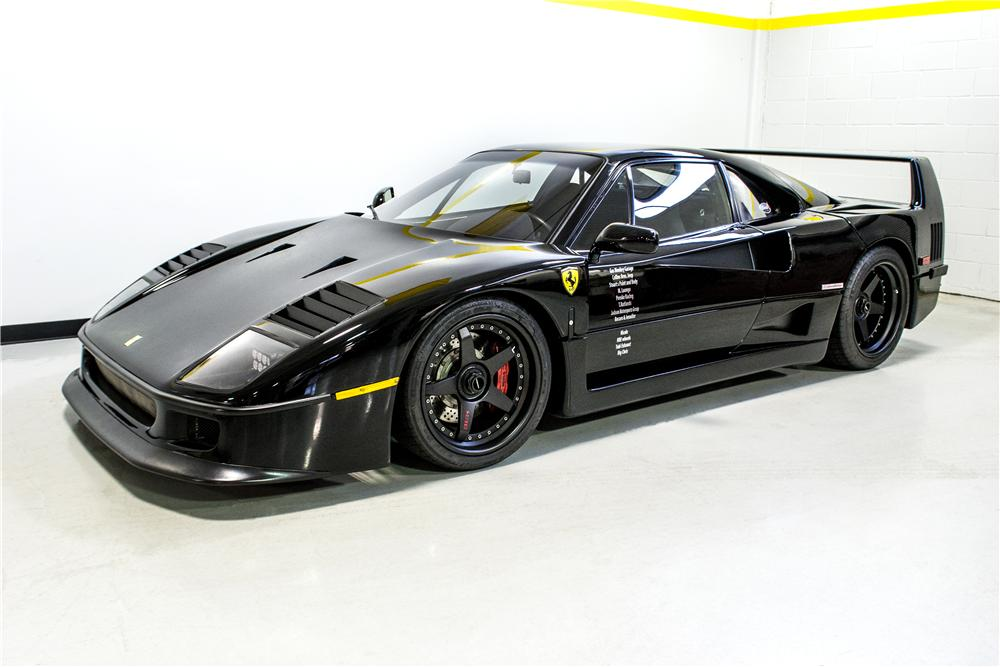 1991 FERRARI F40 2 DOOR COUPE - Front 3/4 - 161289