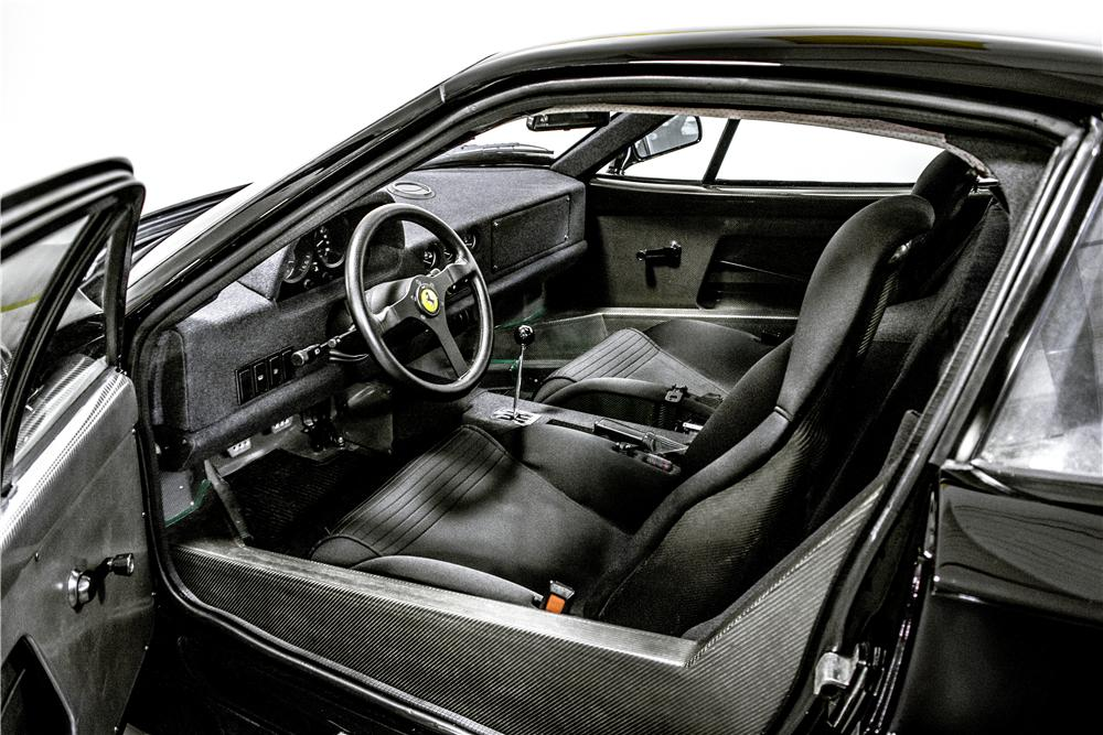 1991 FERRARI F40 2 DOOR COUPE - Interior - 161289