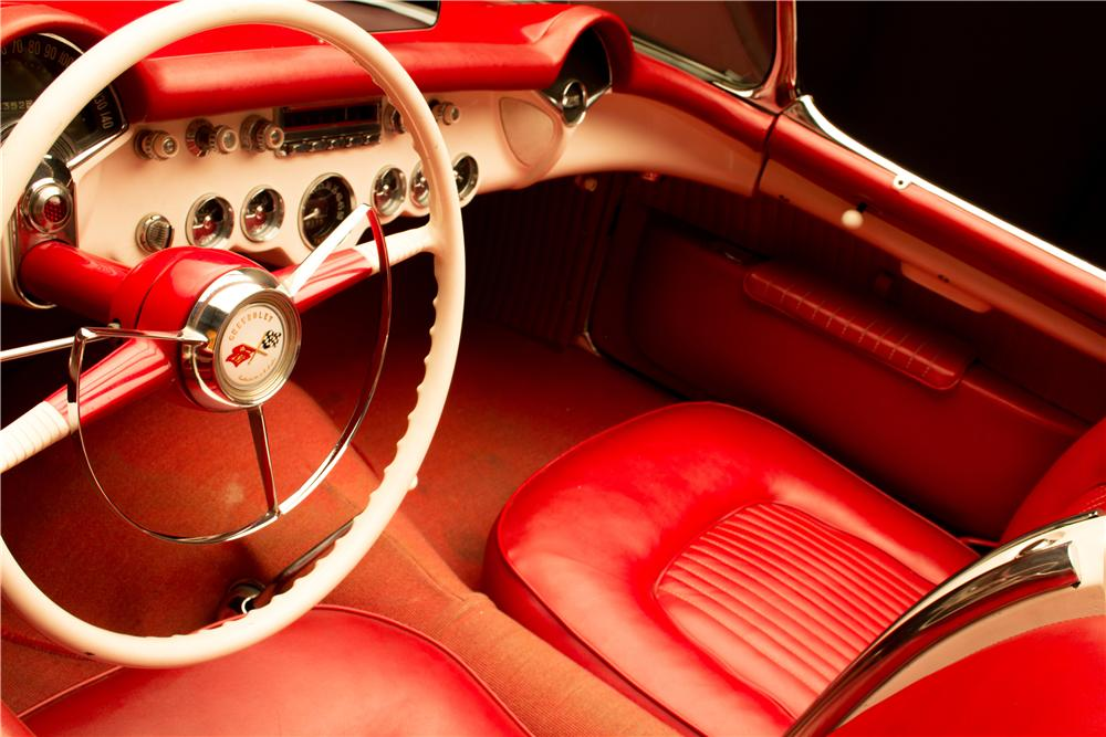 1953 CHEVROLET CORVETTE CONVERTIBLE - Interior - 161296